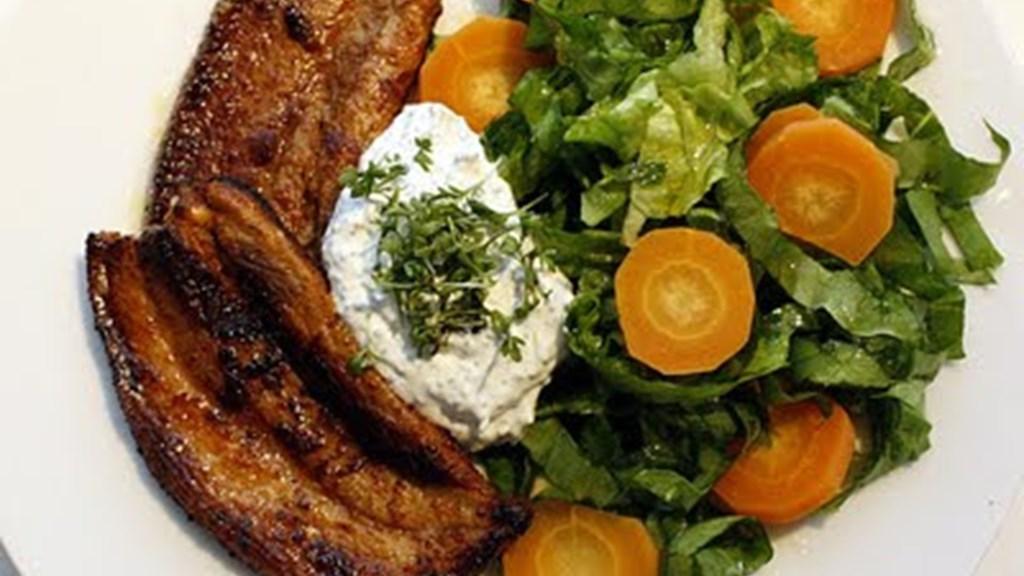 Grillskiver m/ salat