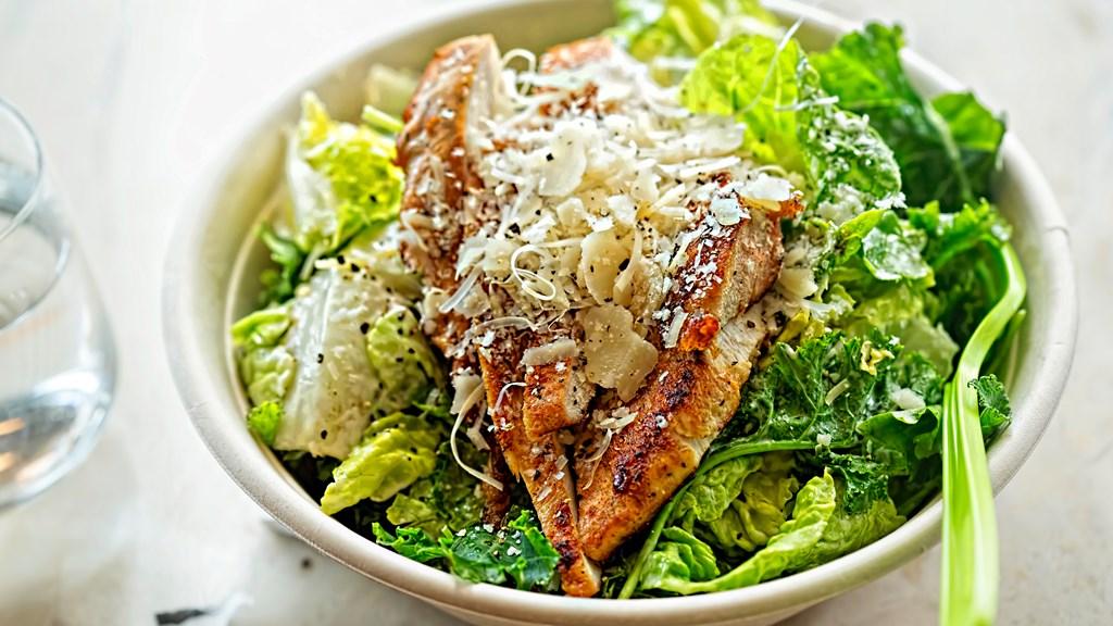 Cæsarsalat med kyllingfilet