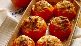 Fylte biff-tomater