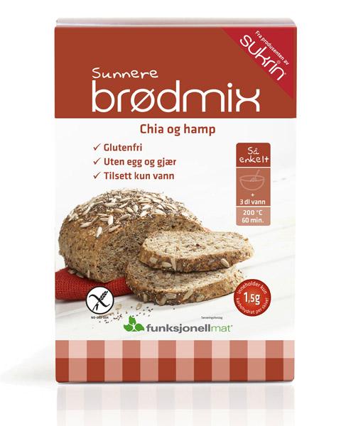 73205_Funksjonell_Mat_Sunnere_br_dmiks_Chia_og_Ham_1, sunnere brød, lakarbobrød, glutenfritt brød, sunn brødmiks.jpg