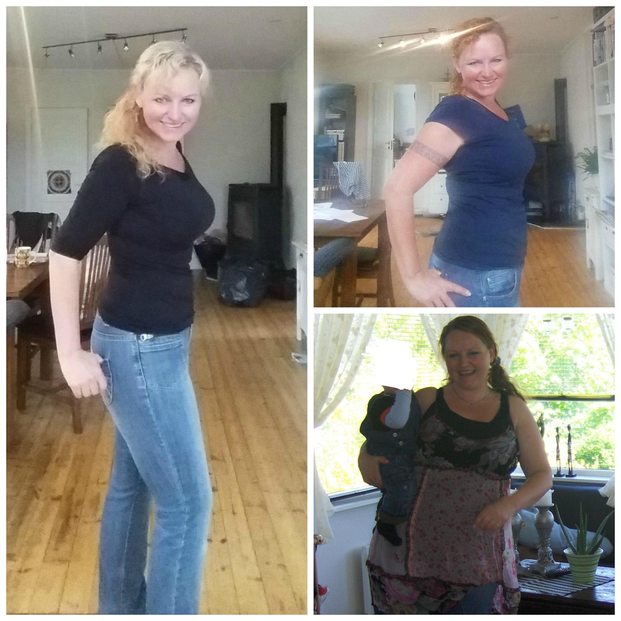 før og etter ketose, ned i vekt med lavkarbo