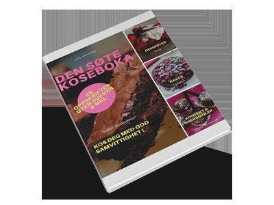 den søte koseboka uten sukker og mel. lavkarbo kaker, lchf kaker, kaker for diabetikere, sunnere kaker, sukkerfrie kaker, de beste lavkarbo kakene, lavkarbo suksessterte, lavkarbo sarah bernhardt,  lavkarbo pavlova